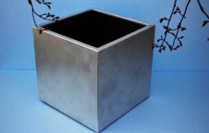 fiioriera in alluminio spazzolato