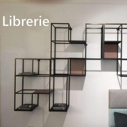 librerie in metallo