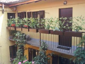 balconette moderne su misura